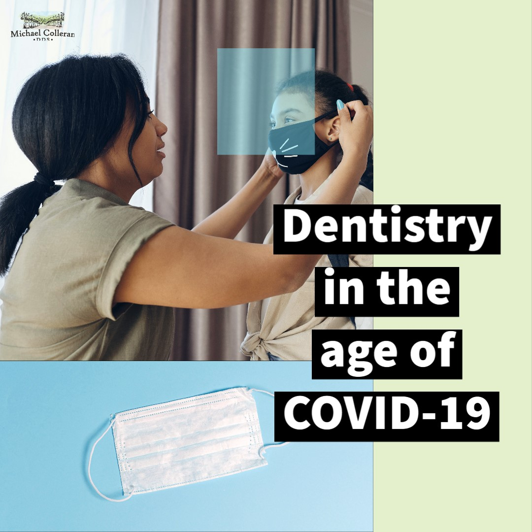 girl-putting-on-mask-going-to-dentist-during-covid19